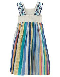 Monsoon   Annora Striped Dress   Multi   12-13 Years
