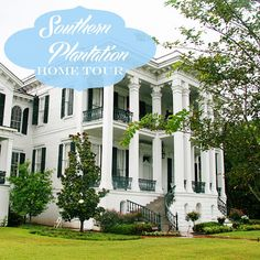 A Plantation Tour: Nottaway Plantation