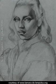 Self-Portrait - Tamara de Lempicka - www.tamara-de-lempicka.org
