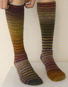 Ravelry: beforesunrise's fake palindromes using Wendy's Generic Toe-Up Sock by Wendy D. Johnson.
