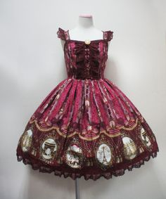 Angelic Pretty Cameo Window JSK