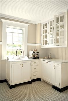 Added Benjamin Moore's Crisp Khaki 234 provides richness and highlights the architectural features.