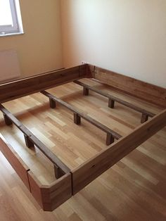 Zirbenbett mit massivem Unterbau | Zirbenbett Schlafzimmer ...