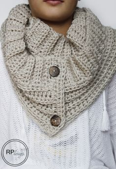 Te lekkere col sjaal om te haken vd winter