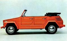 The VW thing is a classic icon.