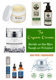 Best Organic Anti Aging Face Creams for Natural Glowing Skin Discover top rated organic anti aging face creams that will provide you with younger and glowing skin while being tough on wrinkles and other skin issues.