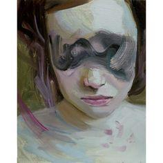 Hélène Delmaire / arte, pintura, rostros, rostro
