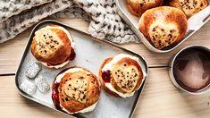 Bakewell Tart, Pretzel Bites, Bread, Breakfast, Food, Biscuit, Biscuits, Food Food, Morning Coffee