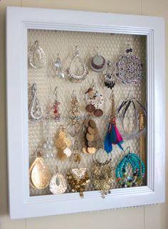 Good Clean Fun: DIY Jewelry Display