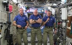 Tim Peake has sent a video Christmas card from the International Space Station.
