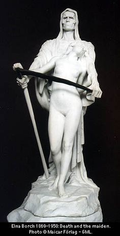 Thanatos-The legend of the Grim reaper can be tracked all the way back to Greek mythology. Thanatos's job was to accompany souls to hades (The Greek underworld).  He would then pass them on to the ferryman on the river styx, Charon.