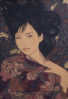 Kai Fine Art is an art website, shows painting and illustration works all over the world. Japanese Art Modern, Japanese Prints, Modern Art, Art And Illustration, Illustrations, Art Occidental, Art Chinois, Art Asiatique, Art Japonais