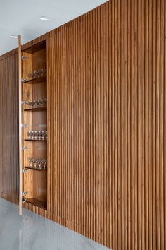 Casa Hotel, Wood Slat Wall, Interior Architecture, Interior Design, Küchen Design, Home Office Design, Interior Inspiration, Living Room Designs, New Homes