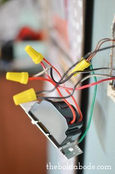 How To Install A Dimmer Switch Dimmer Switch Diy Electrical Home Electrical Wiring