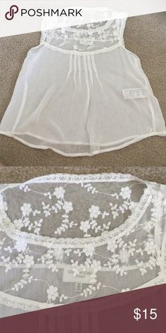 Spotted while shopping on Poshmark: Gilly Hicks sheer top xs! #poshmark #fashion #shopping #style #Gilly Hicks #Tops