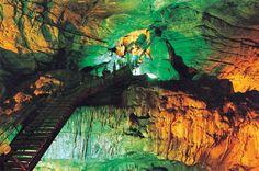 Interior of the Borra Caves near Vizag