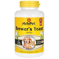 ActiPet Brewer's Yeast 90 Tabs *** Details can be found by clicking on the image. #DogLovers