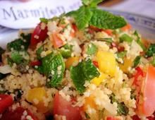 Quinoa Salad Recipe With Lime + Fresh Mint Recipes — Dishmaps