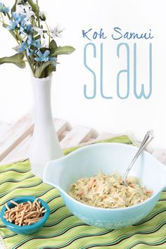 Today's recipe is a super simple Thai Lime slaw. This dish is amazing and healthy at the time (so no breaking those resolutions.) Works as great side dish or add a protein to have it as a stand alone meal. I swear it takes 5 minutes to make and will save your life when you're in a pinch