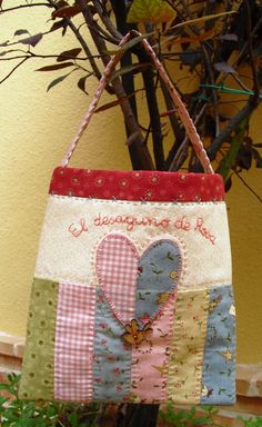 Pretty tote with Heart