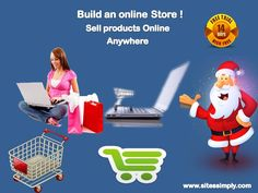 Build an #EcommerceStore & Sell Products online anywhere easily with #SitesSimply. 14 Day FREE trial!