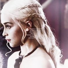 Daenerys Stormborn, of House Targaryen. Queen of the Andals and the First Men, Khaleesi of the Great Grass Sea, Breaker of Chains, and Mother of Dragons.