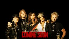 Get ready for the new Aerosmith.com Coming Soon
