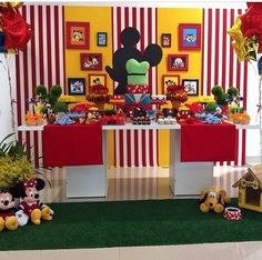 Mickey Mouse Birthday Party Decoration
