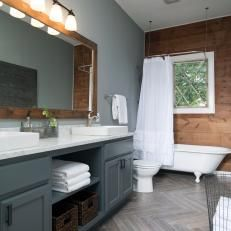 TUTORIAL: DIY BATHROOM DOUBLE VANITY | build it | Pinterest ...