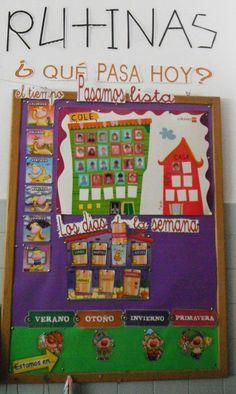 En Educación Infantil trabajamos por RUTINAS y por RINCONES . Esta organización de los días y de nuestra aula es muy importante para que lo...