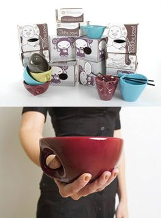Ramen bowls? Genius.