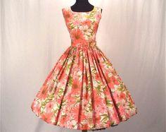 Trouvailles vintage: robes vintage des 60's - Martha vous divaguez