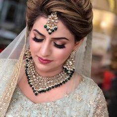 Image may contain: 1 person, closeup Asian Bridal Makeup, Bridal Makeover, Hair Setting, Bride Look, Hair Ornaments, Bride Hairstyles, Indian Bridal, Bridal Collection, Beautiful Bride