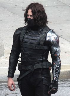 Captain America Civil War Bucky Barnes sebastain Stain Leather Jacket     Dwelled in shadows for years, Bucky has to confront his dark past filled with enormous murders on Hydra instructions. Above all his friendship and tension between superheros, Bucky surely knows how to i