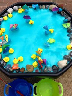 A Tuff Tray, also known as a Tuff Spot, may not look like much at first glance, but the more we got playing with it, the more it became apparent… Baby Sensory, Sensory Bins, Sensory Play, Sensory Table, Nursery Activities, Toddler Activities, Sensory Activities, Indoor Activities, Family Activities
