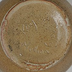 Kay Pottery - Mullion Near Helston Cornwall - Early Ken Blezard Marks 1960s - 1974 - Still producing pots today and now called the K Pottery - http://www.k-pottery.co.uk