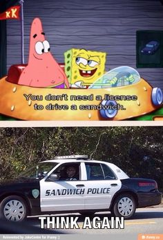 Omg I swear I saw this in good burger!!!! Wait this makes so much since now it's based on sponge bob!