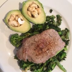 Steak and greens #leanin15 #fats #fats and more #fats #protein #lowCarb winner #90daysssplan #fitfam #food #foodie