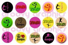 zumba circle to make charms $2.00