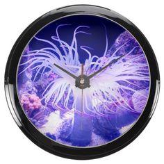 Underwater 10 Aqua Clock & Numeral Options