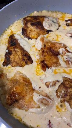 Healthy Chicken Recipes, Low Carb Recipes, Healthy Snacks, Cooking Recipes, Keto Chicken, Chicken Meals, Creamy Chicken, Fried Chicken, Pasta