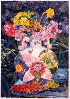 Joseph Raffael, Late Winter Bouquet