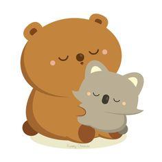 Bear Hug by orangecircle on deviantART