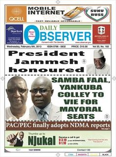 The Gambia, Daily Observer