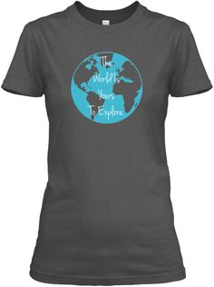 World Travel Quote- 7 Days Only! | Teespring