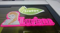 New Designs for your Children's Room.  Add your children's gifts rack with their own names made on acrylic sheet exclusively by Trotec Laser Machine.