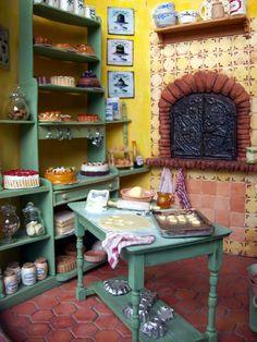 Dans ma bulle: Mise en boîte...miniature bakery