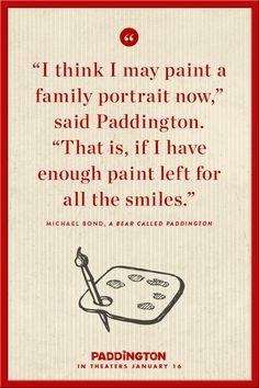 Paddington always looks on the bright side. | Paddington. #paddington