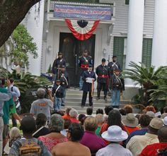 Recognizing the Sesquicentennial of Emancipation in Florida 150 Years: May 20, 1865 to May 20, 2015 - On Wednesday, May 20, from 11:30 a.m. to 1:00 p.m., the Knott House Museum will host its annual Emancipation Day Celebration with a dramatic reading of the Emancipation Proclamation. This year's event marks the 150th anniversary of the declaration by Brigadier General Edward McCook that the Emancipation Proclamation was in effect in Tallahassee on May 20, 1865.