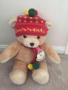 Harrods 1988 Annual Christmas Teddy Bear Tagged